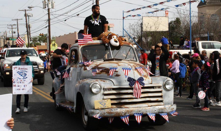 Car club members ride to success at parade