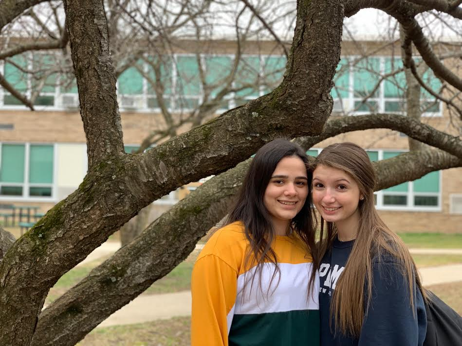 Sophomores Adriana Bermudez and Melissa Vazquez both attend Pascack Valley. Bermudez left Cruces, Cuba, when she was 13 years old for more opportunities.
