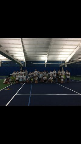 """Serving up some """"love"""": PV junior uses tennis to help individuals living with autism"""