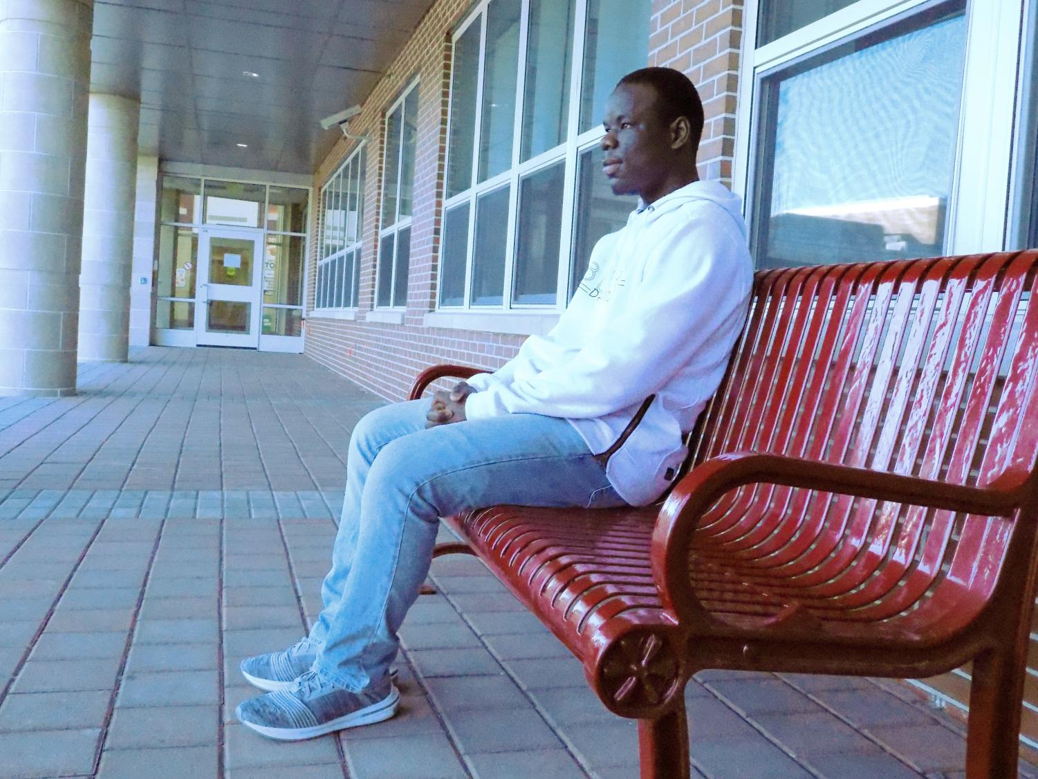 Senior Abbass Kamara works diligently to support his family after immigrating to Northborough from Sierra Leone.
