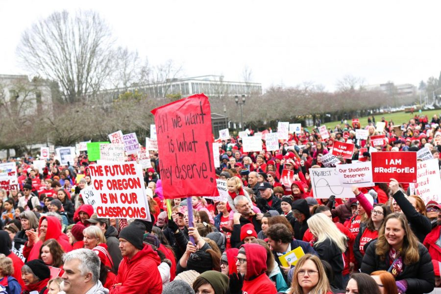 Anticipated statewide teacher walkouts lead to TTSD cancellation
