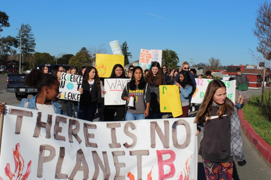 Petaluma Youth Join International Climate Strike