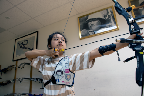 Erin Choi Shoots for Success in Archery