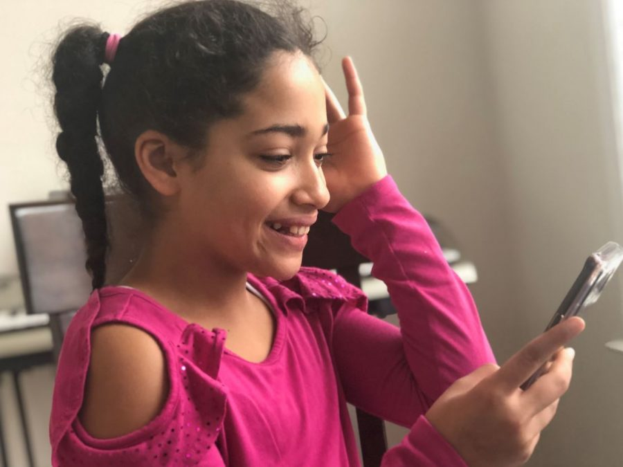 Out+of+all+the+apps+on+her+phone%2C+fifth+grader+Yazmine+B.++spends+the+most+time+on+TikTok%2C+an+app+that+allows+its+500+million+active+monthly+users+to+create+comedy%2C+dance%2C+and+lip+sync+videos.+TikTok%E2%80%99s+guidelines++require+parent+permission+for+users+under+18+to+use+the+app.+Young+children+and+tweens+like+Yazmine+usually+fabricate+their+birthdates+to+create+an+account.+The+app+does+little+to+protect+its+younger+users++from+explicit+content+and+online+predators.+%E2%80%9CIt%E2%80%99s+a+joke%2C%E2%80%9D+Titania+Jordan%2C+Chief+Marketing+Officer+of+Bark%2C+a+parental+control+service%2C+said.+