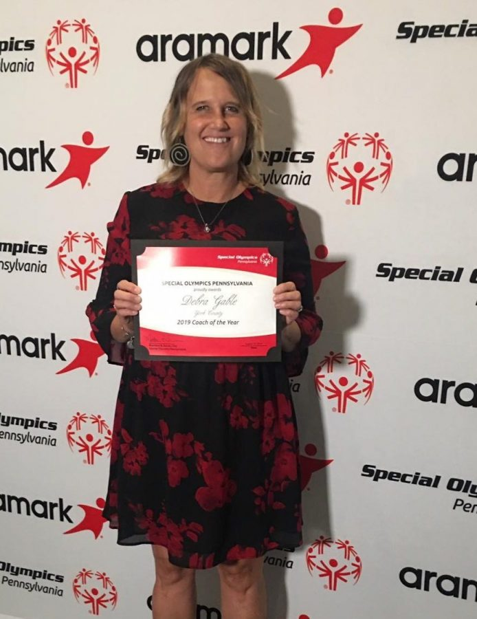 Mrs. Gable Selected PA Special Olympics Coach of the Year