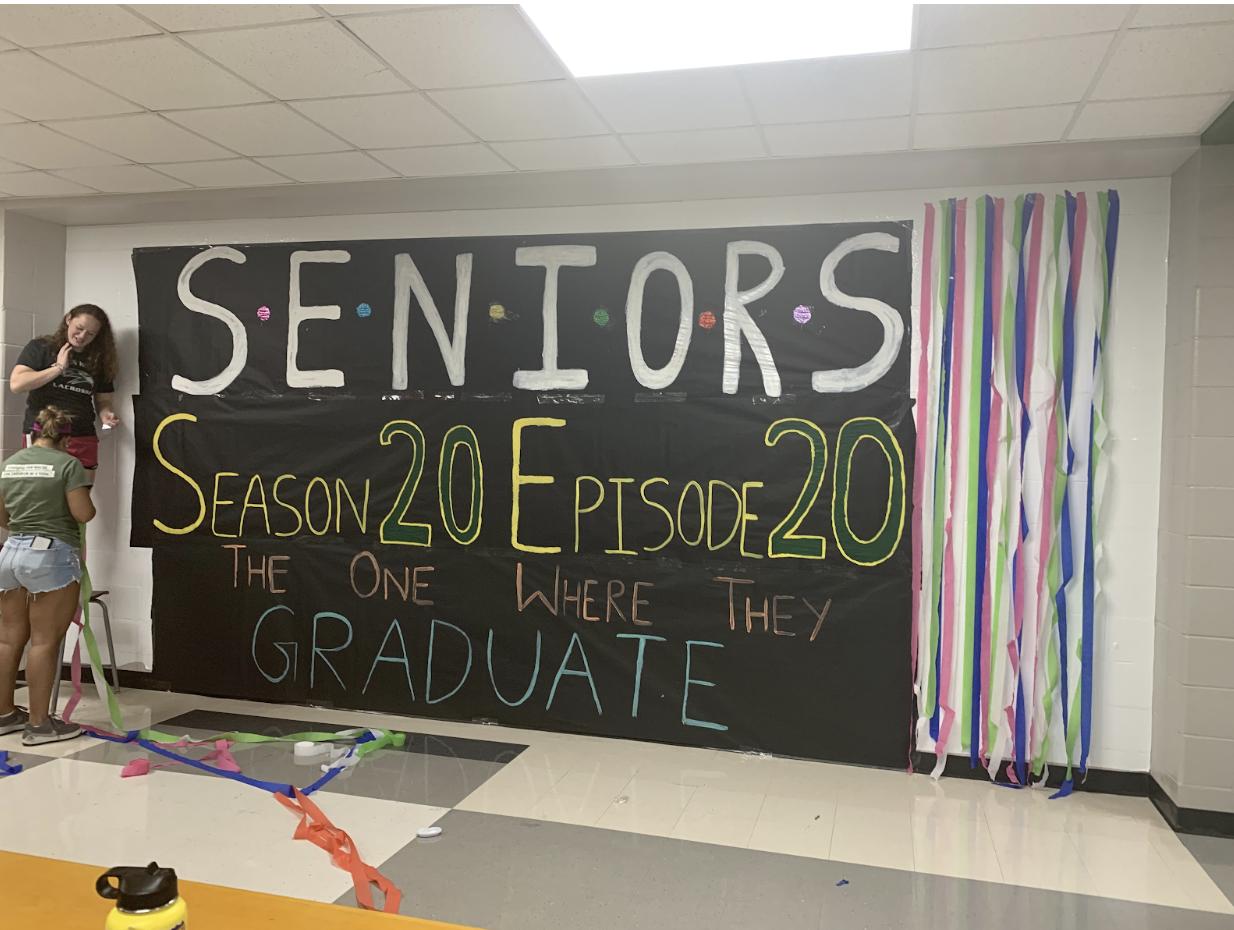 The seniors prepare for season 20, episode 20, the one where they graduate.