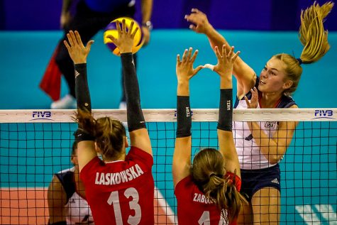 Wearing red, white, and blue, Wenaas soars with Team USA