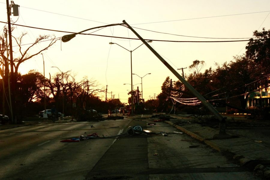 Scattered+debris+from+street+lights+and+trees+lie+on+Royal+Lane+in+Dallas+on+Monday.+Nine+tornadoes+hit+North+Dallas+Sunday+night+and+devastated+many+businesses%2C+residential+areas+and+schools.