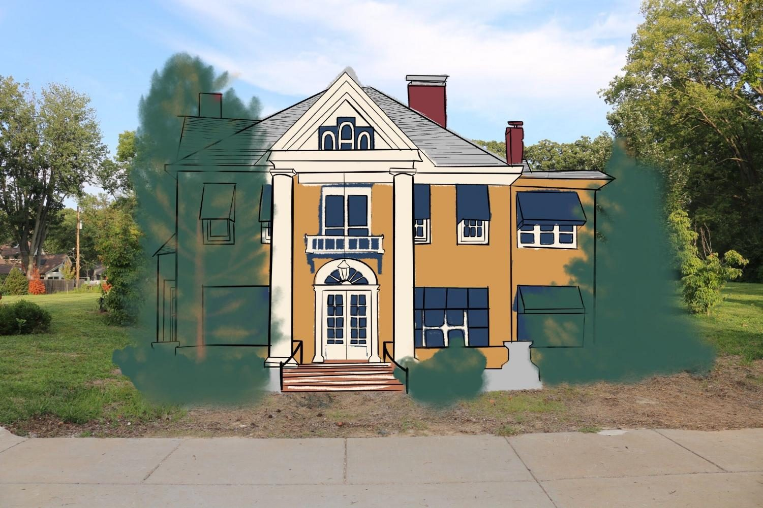 A drive down N. Taylor Ave is a showcase of Kirkwood's prime real estate. But for over six years, the nearly 2-acre lot where the historic house of 750 N. Taylor once stood, has been vacant.
