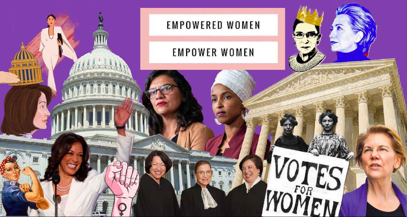 """""""The lack of female representation causes women to feel as though the government is only a man's place. Not only does this affect older women, but young girls as well. They have no voice because they have no political female role models to look up too,"""" says Sahar Bueno-Abdala ('21)."""
