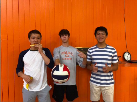 3 boys become managers of girls varsity volleyball