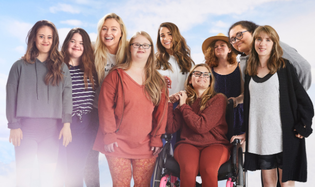 Baldwin students model for Aerie's celebration of Global Week of Inclusion photo shoot