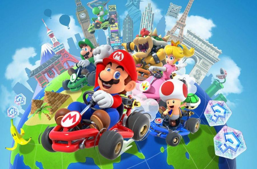"""Mario Kart Tour"" Races to the Front of App Stores Worldwide"