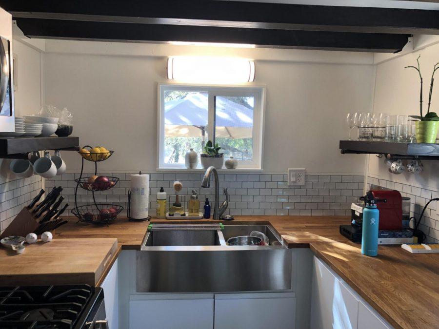Teacher tries tiny house living