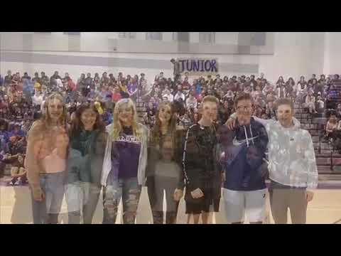VIDEO: Hoops contest, homecoming court anchor pep rally