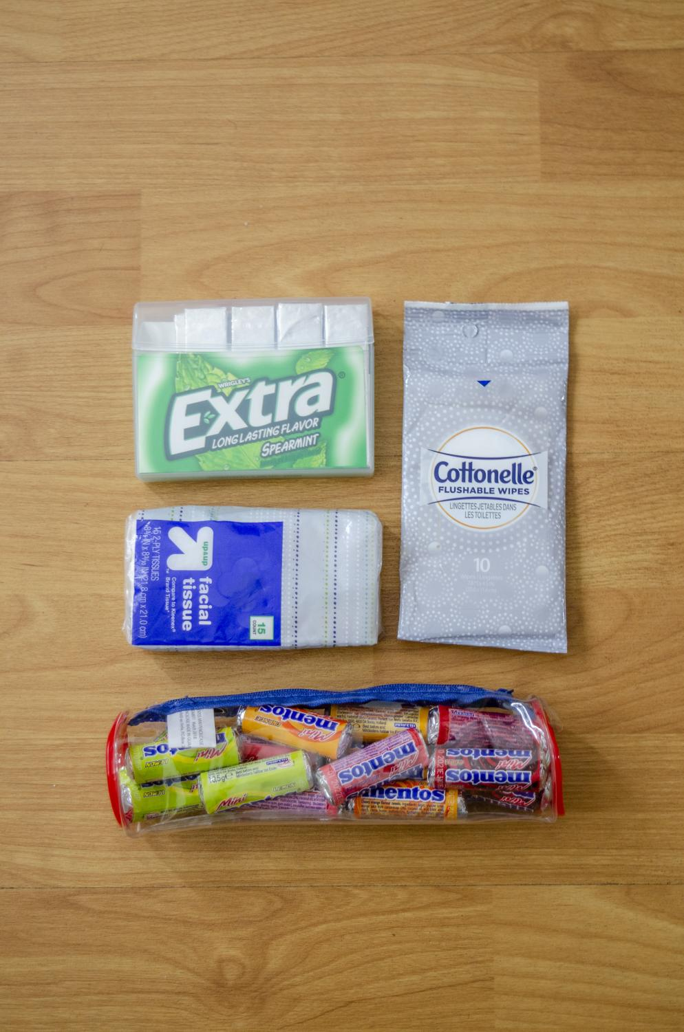 Going waste-free forced me to get rid of potential waste like gum, candy wrappers and paper tissue from my backpack. It was hard to go throughout the day without those items, but I eventually got used to it.