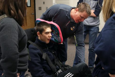 Engineering students start year-long project to help a family affected by Christianson syndrome