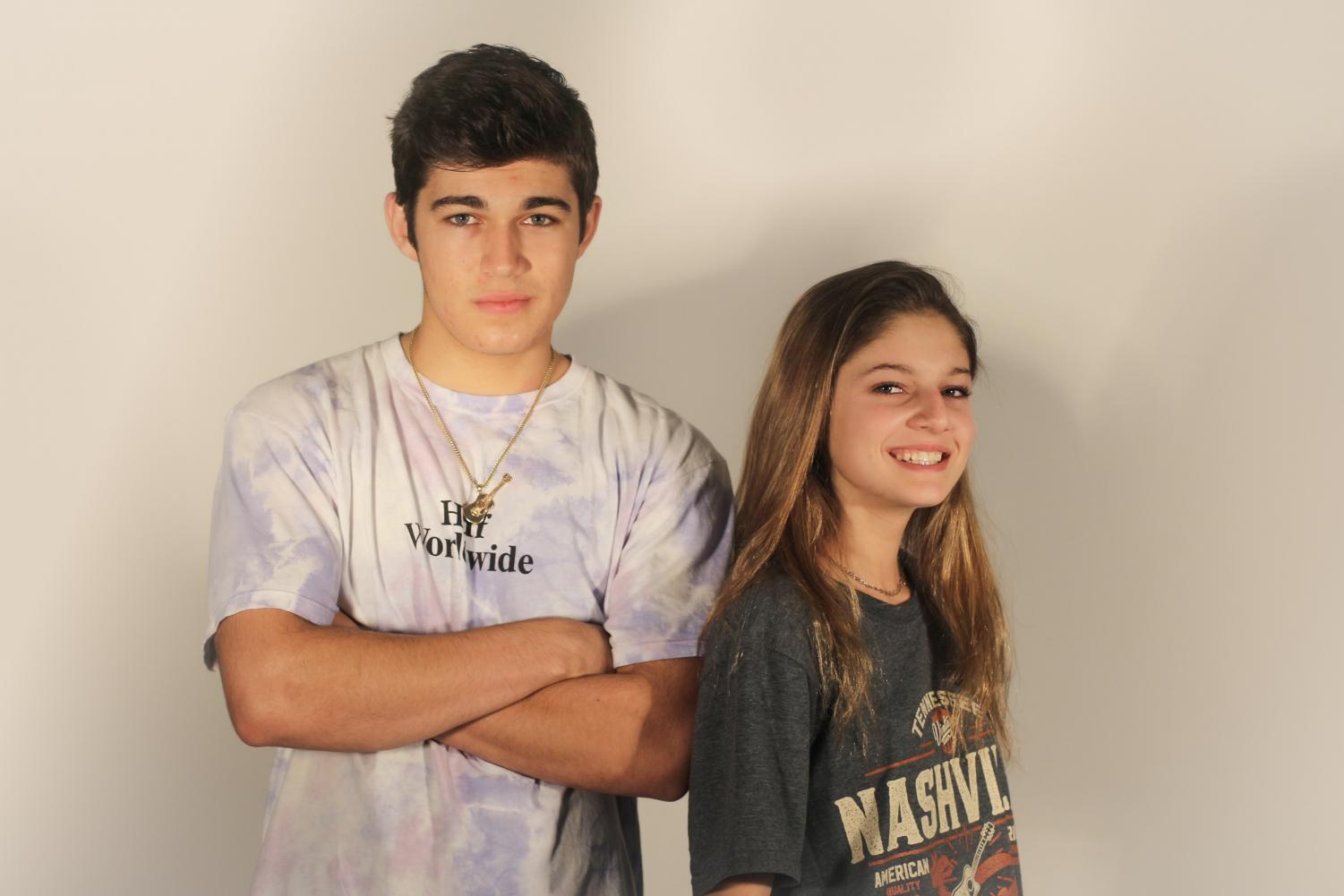 "Vocal freshman Julianna ""Juna"" Defeo and vocal senior Joey Defeo have been working together ever since they could talk. ""Our bond is super close, and we are always there for each other when it comes to music and even life,"" Juna said. ""We wouldn't want it any other way or with anyone else."""