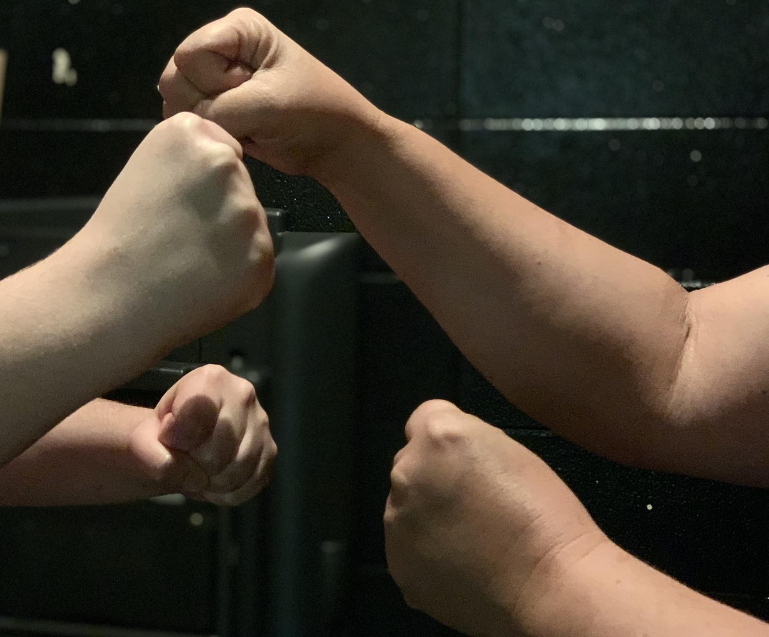 Despite many choosing to fight it out, the Klein Oak administration and staff encourages disagreeing parties to talk it out before punches start flying.
