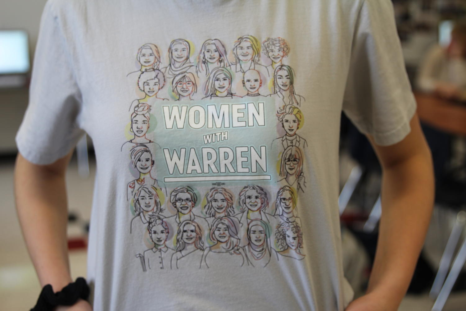 Elizabeth Warren, a democratic presidential candidate for 2020, preaches a message of equality for all women.