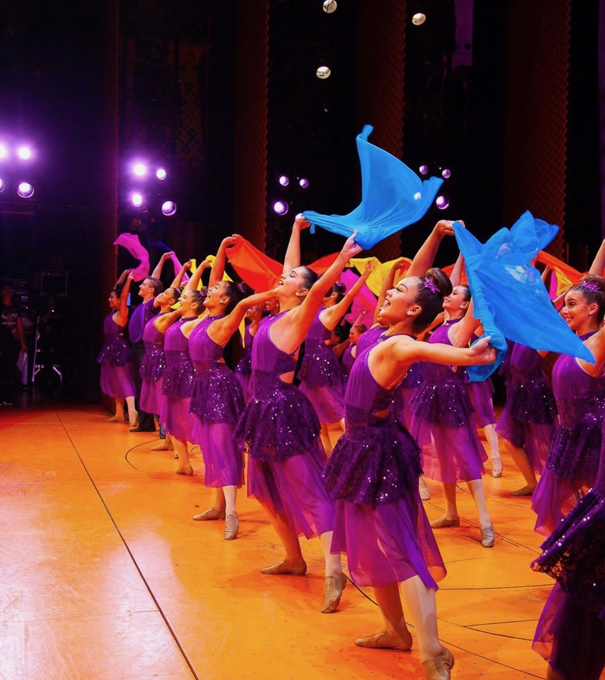 The SC Elite Dance Team performs their lyrical style dance to