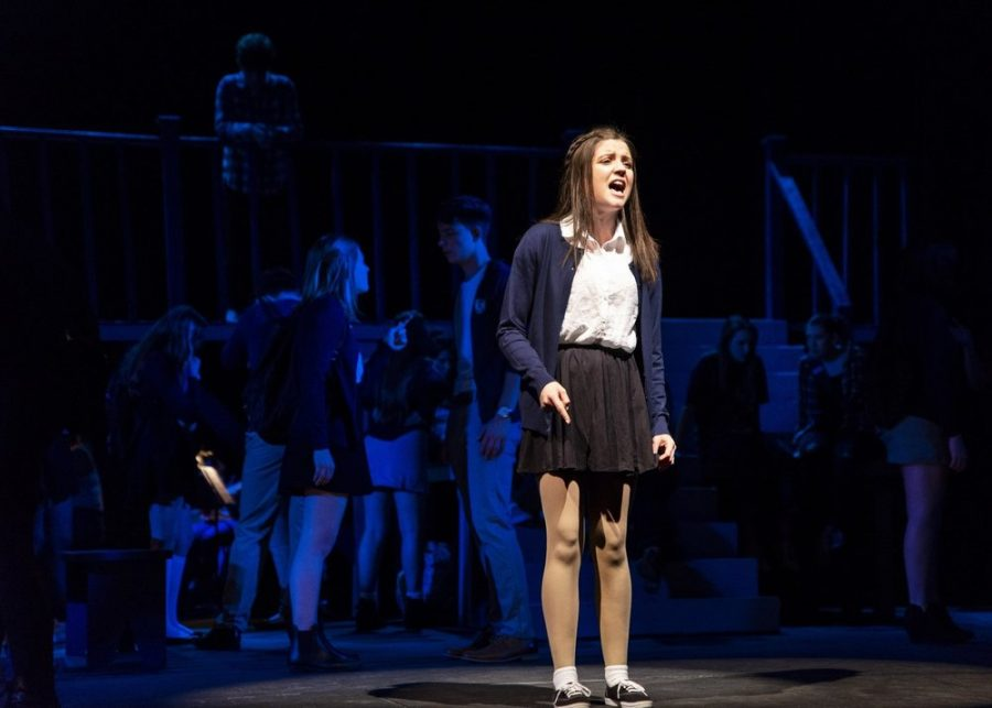 GBHS+Alumni+Natalie+Collins+plays+Lily+in+the+original+production+of+Ranked.