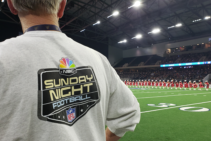 Redhawks first and only win of the season made it's way on national television on Sunday, Nov. 10, 2019. During the Cowboys v. Vikings game on Sunday, highlights from the Liberty v. Wakeland game were featured during NBC's broadcast of Sunday Night Football.