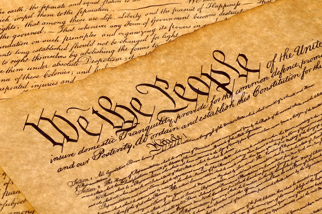 The Constitution was ratified on June 21, 1788. The Second Amendment, ratified in December 1791, provides U.S. citizens the right to bear arms.
