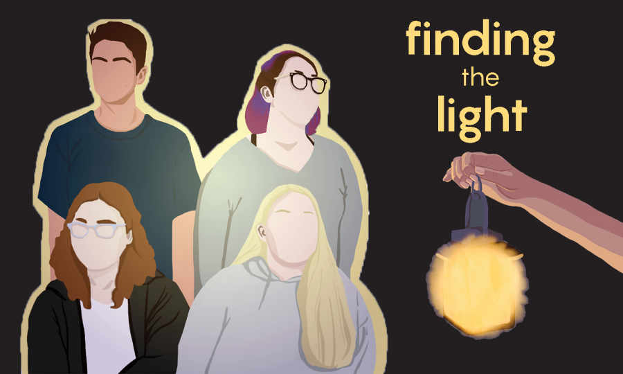 Finding the Light: Students find ways to cope with mental health issues