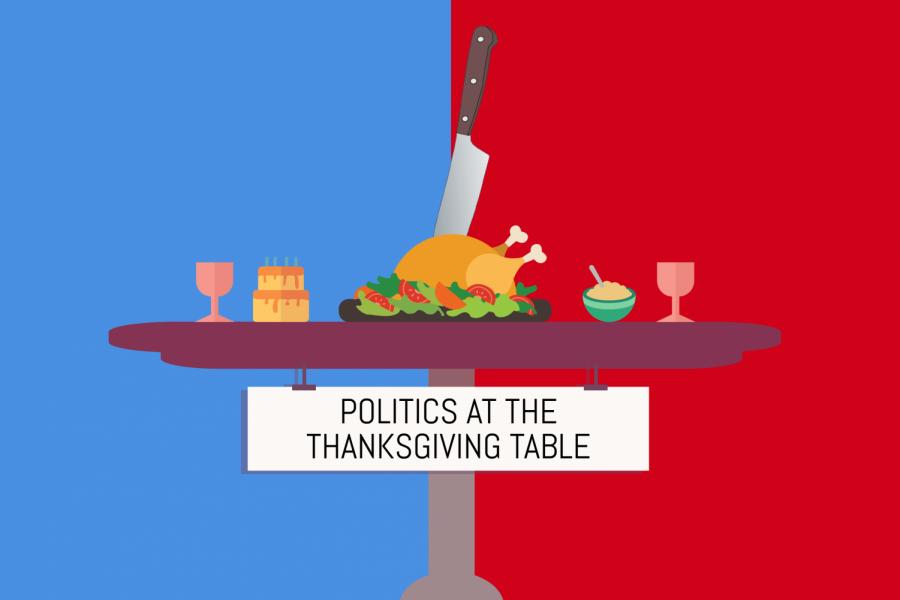 Don't be afraid to serve politics at Thanksgiving