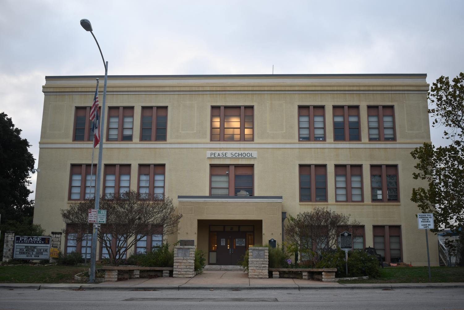 Pease Elementary,  Texas's oldest continuously operating public elementary school, is one of four campus closures taking place in the School Changes proposal that passed on Nov. 18.