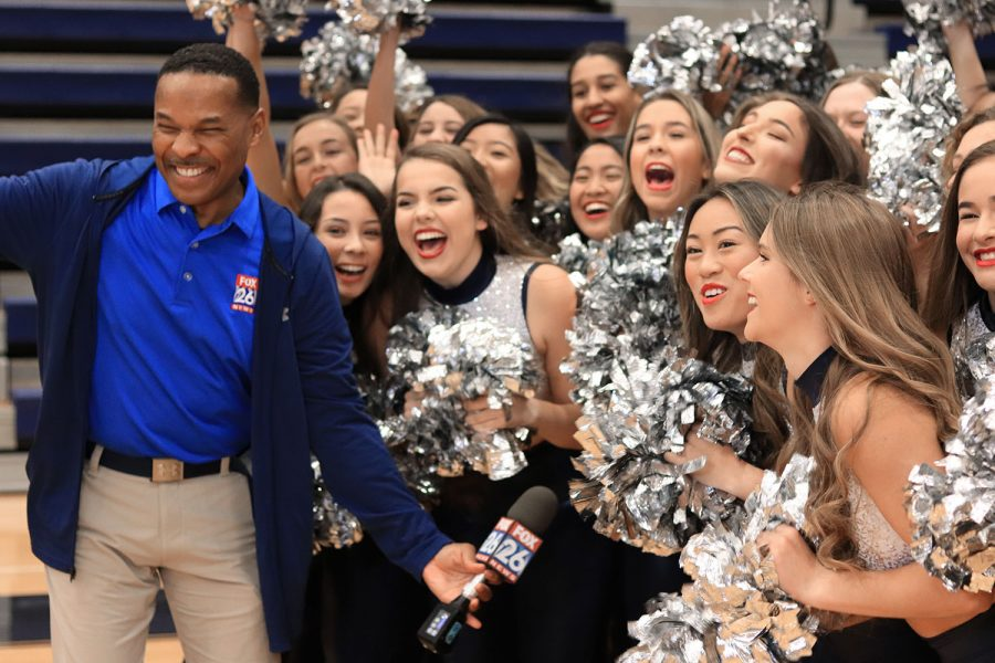 'Friday Football Fever' broadcasts school spirit for playoffs