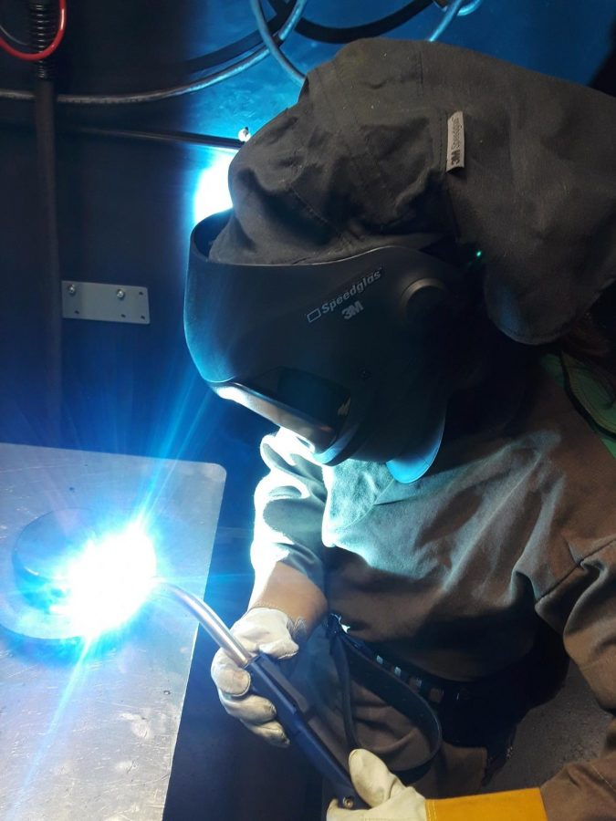 Wielding women empowerment by welding: Local John Deere employee finds national recognition with a nontraditional career