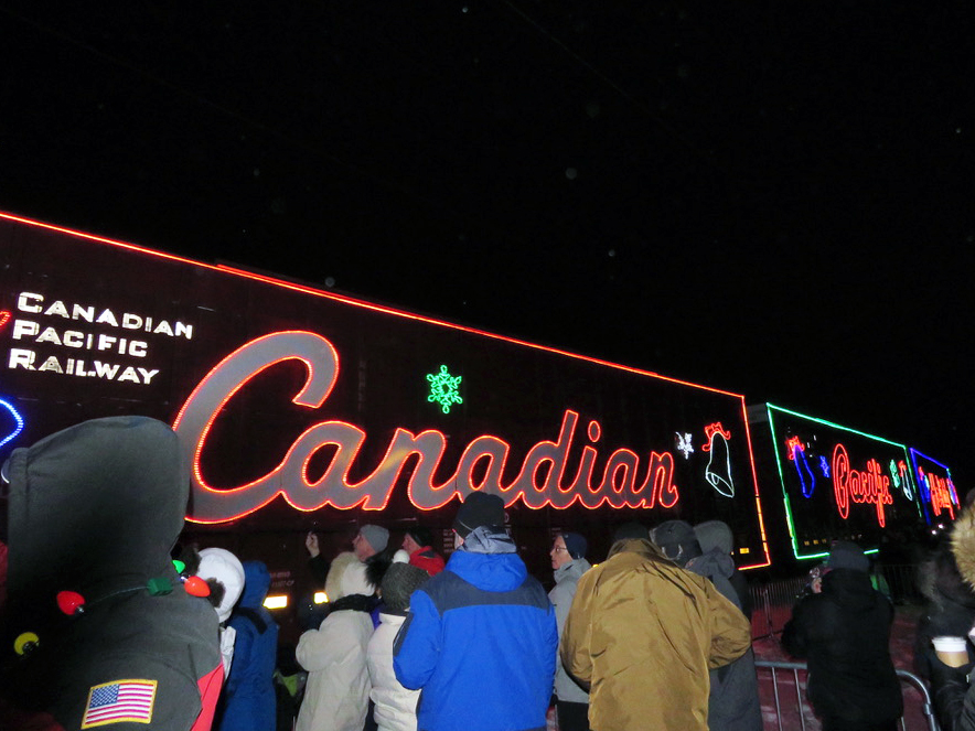 Canadian Pacific Holiday Train returns