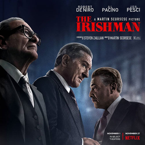 """REVIEW: Murder and faith at the forefront of Scorsese's newest film, """"The Irishman"""""""