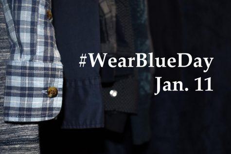 #23WearBlueDay to bring awareness to human trafficking Jan. 11