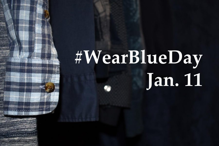 Participants+can+post+pictures+of+themselves+wearing+blue+clothing+on+social+media+with+the+hashtag+%2523WearBlueDay+to+help+raise+awareness+for+human+trafficking.