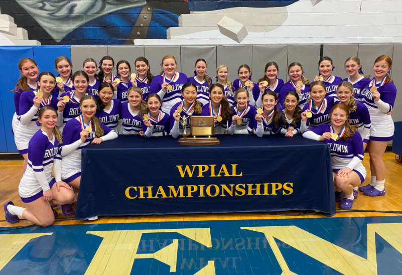 Competition cheer team makes history with first ever WPIAL win