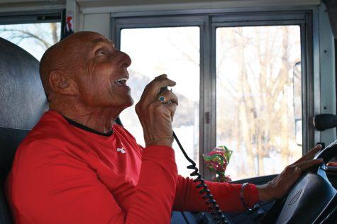 Bus driver celebrates students' birthdays