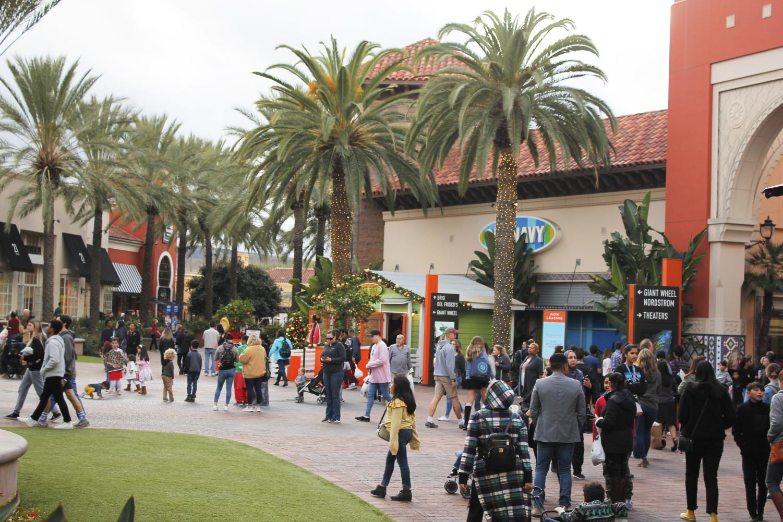 Irvine families enjoy their weekend at the Irvine Spectrum and the Woodbridge Village Center.