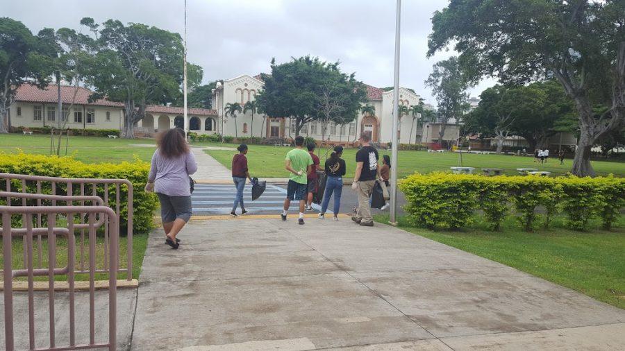 Tiger Interact Club beautifies campus