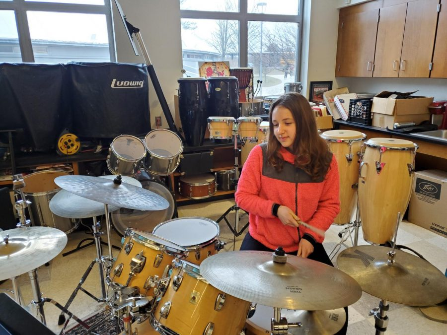 Lilli Tobe: Drumming is always going to be something I do.