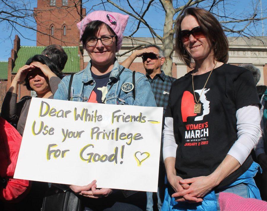 Rowland: White privilege needs to be addressed