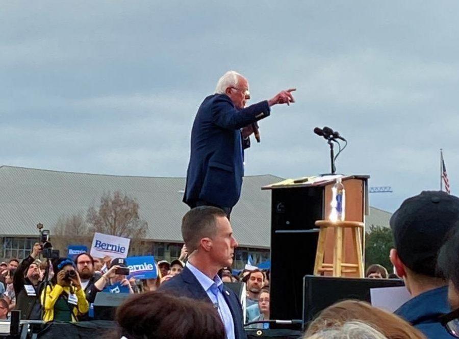 Austin Campaign Rally Invigorates Bernie Sanders' Followers