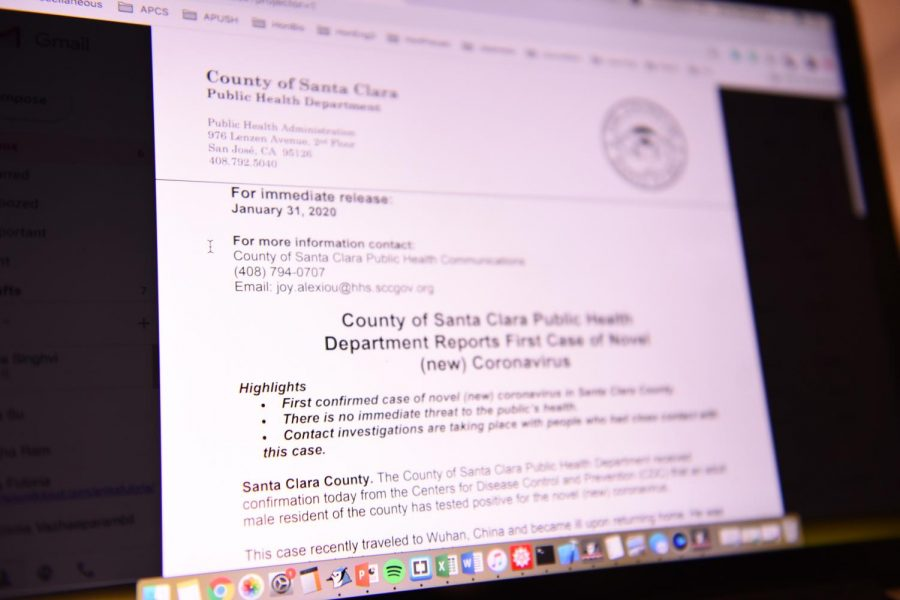 Santa Clara County announces first case of coronavirus – as infected person in isolation
