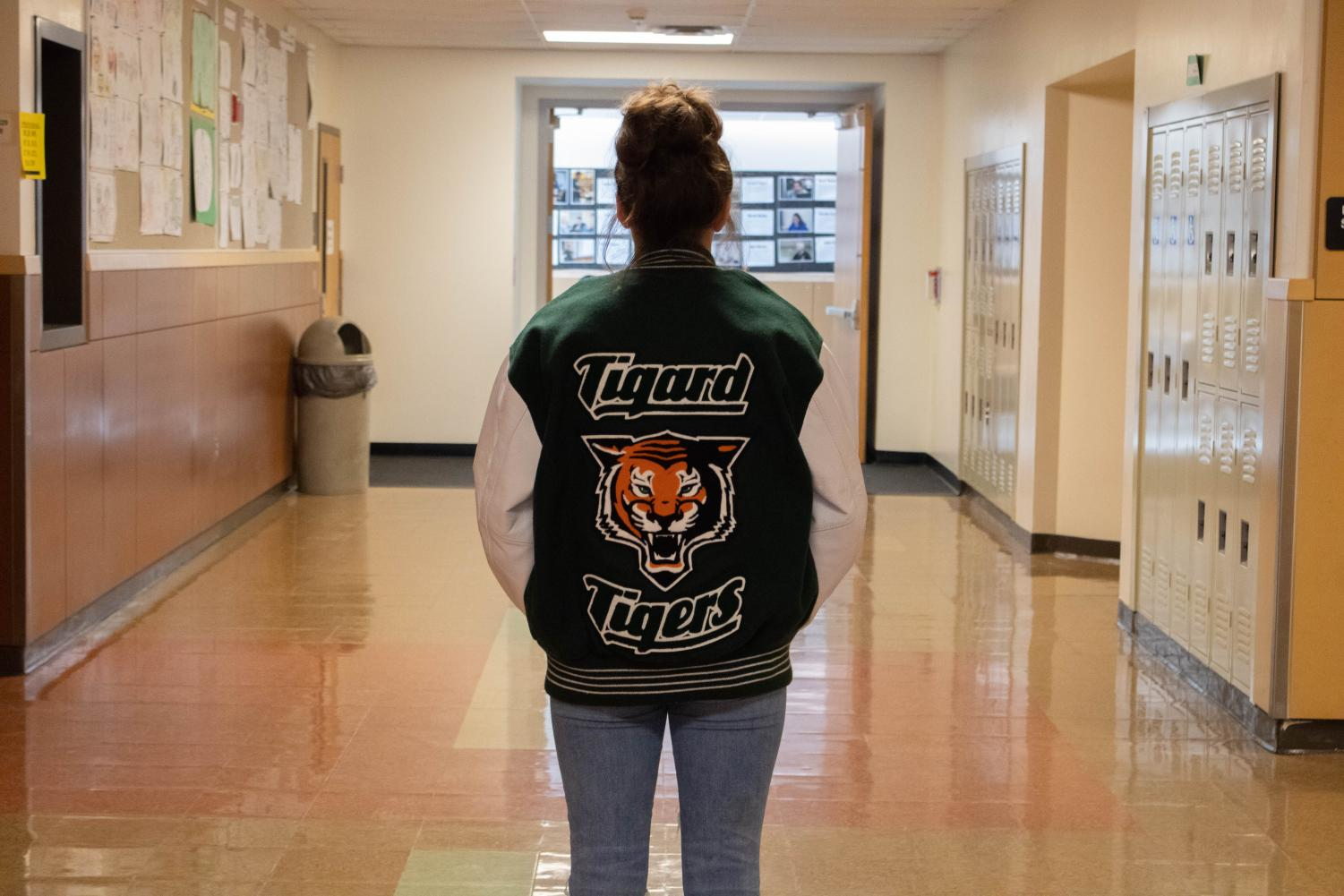 Letterman jackets are becoming a thing of the past. Locally, they are not as trendy.