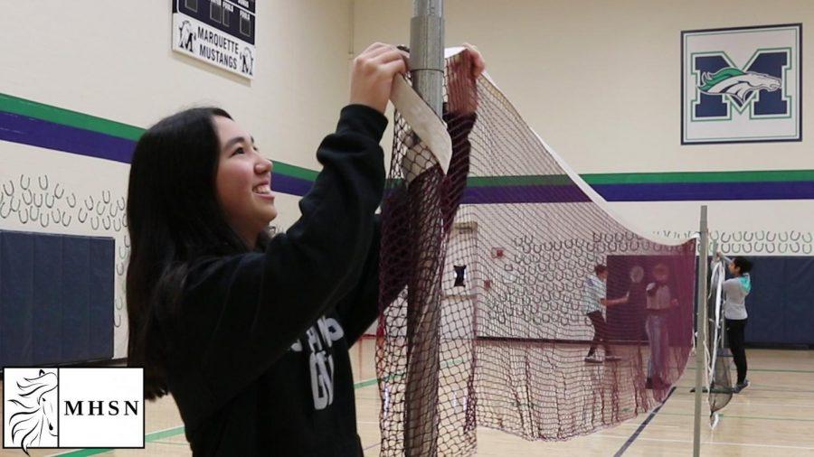 MHSNews   Badminton Club Sees Growth in Members