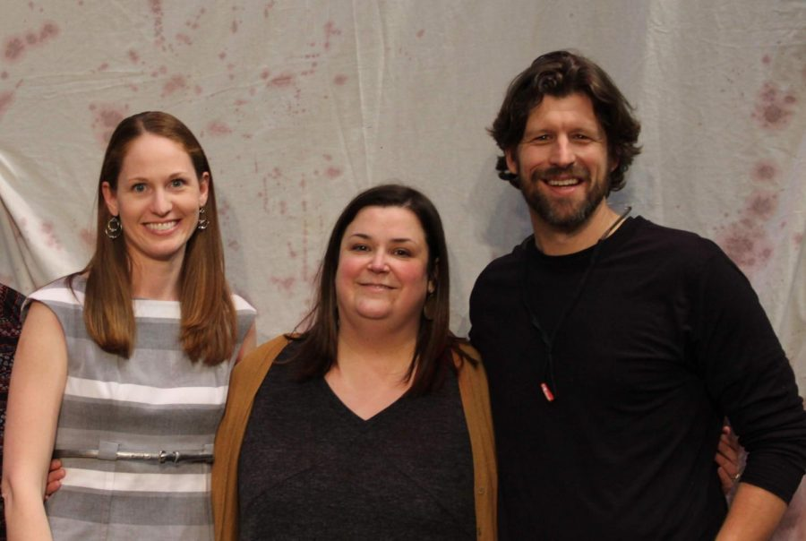 Friend crush: Katy Nahra, Ann Rocarek and Christian Aanestad