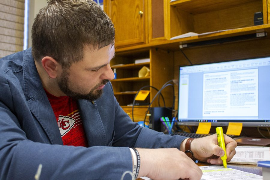Photo Essay: Sundays are busy work day for local pastor