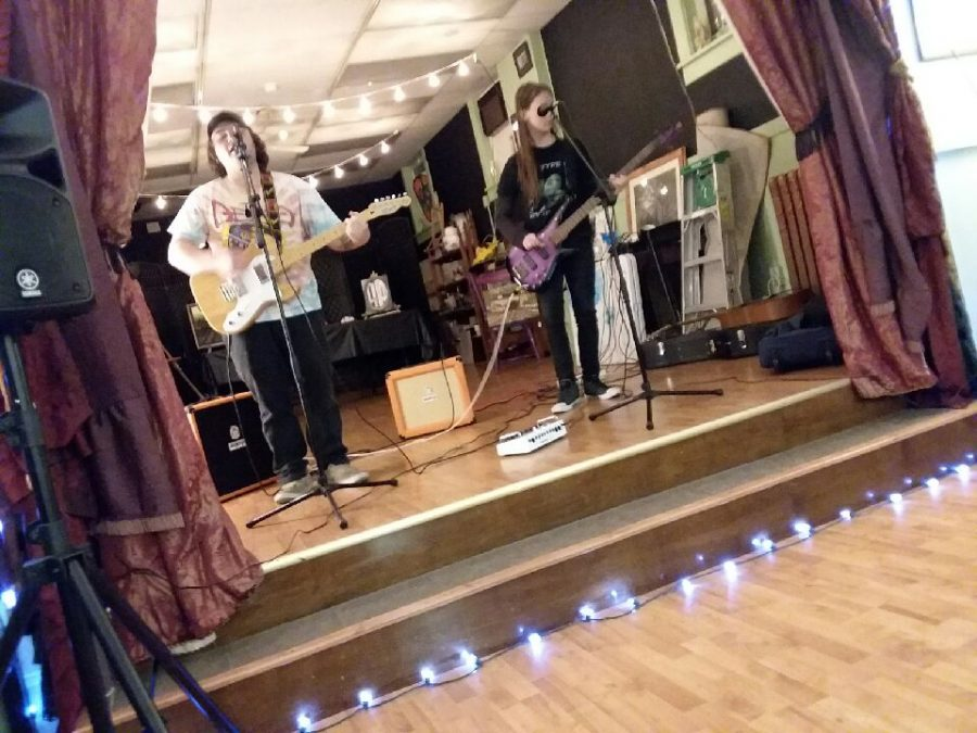 Tyrone Junior Half of Local Rock Duo 'Acid Rain'